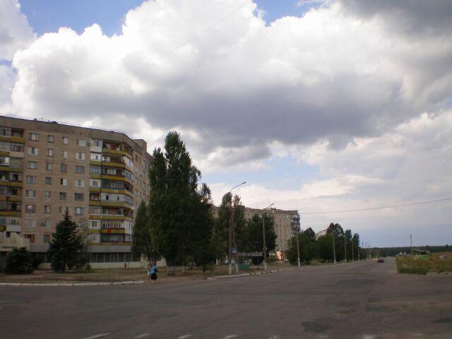 фото города рубежное - запад