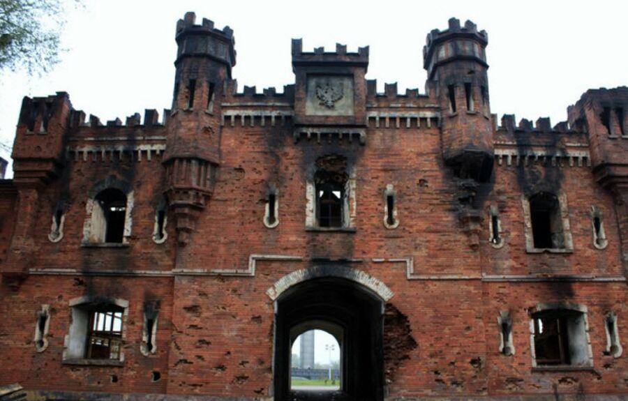 Брестская крепость, первый защитный рубеж