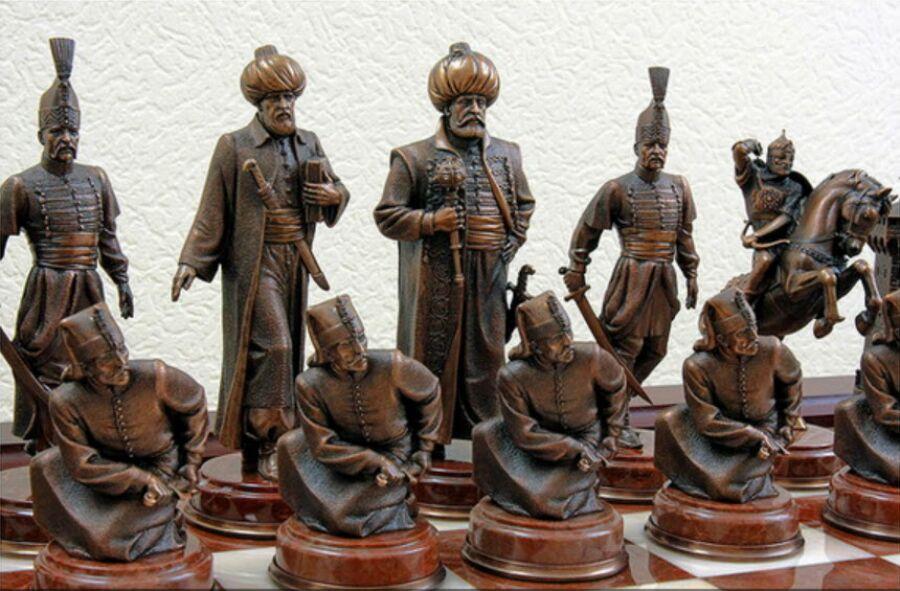 Литье шахматные фигуры своими руками