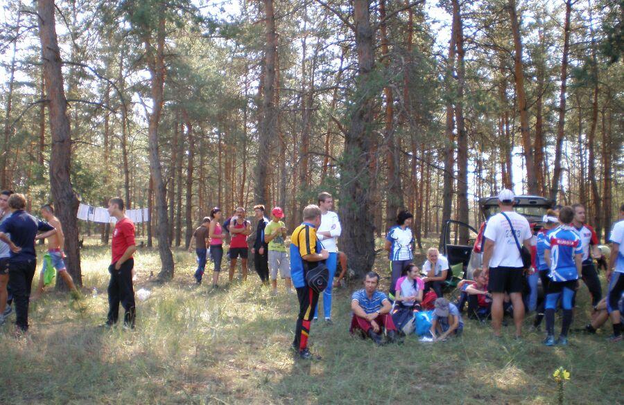 подготовка участников к старту